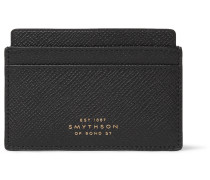 Panama Cross-Grain Leather Cardholder
