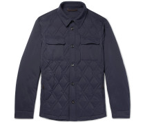 Slim-fit Quilted Shell Down Jacket