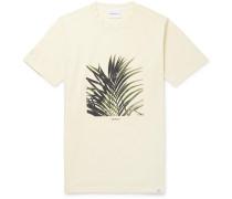 James Printed Cotton-jersey T-shirt