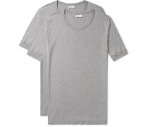 Two-pack Karl Heinz Cotton T-shirts - Gray