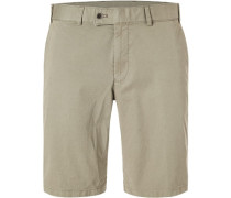 Hose Bermudas Pulia, Contemporary Fit, Twill, oliv