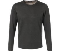 Pullover, Alpakawolle, anthrazit