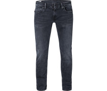 Jeans Hatch, Slim Fit, Baumwoll-Stretch, blau