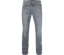 Jeans John, Straight Fit, Baumwolle