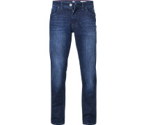 Jeans, Modern Fit, Baumwolle SUPERFLEX, dunkel