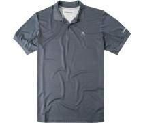 Polo-Shirt, Mikrofaser Coolmax, graphit