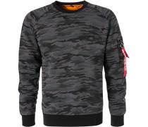 Sweatshirt, Baumwolle, camouflage