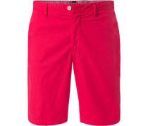 Hose Bermudashorts, Regular Fit, Baumwolle, pink