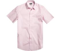 Hemd, Regular Fit, Baumwolle, rose kariert