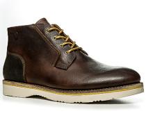 Schuhe Desert Boots, Leder, dunkel
