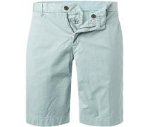 Hose Shorts, Baumwolle, mint