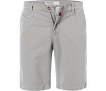 Hose Bermudashorts, Regular Fit, Baumwolle, khaki