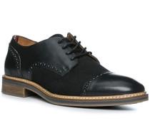 Schuhe Brogue, Leder