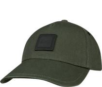 Cap, Baumwolle, khaki