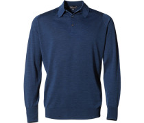 Pullover, Easy Fit, Merino Extrafine, indigo