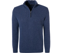 Pullover Troyer, Wolle, capri meliert