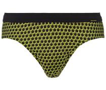 Bademode Badeslip, Mikrofaser, -leuchtgrün