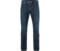 Jeans Ray, Straight Fit, Baumwolle, indigo
