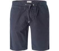 Hose Bermudashorts, Regular Fit, Baumwolle, navy