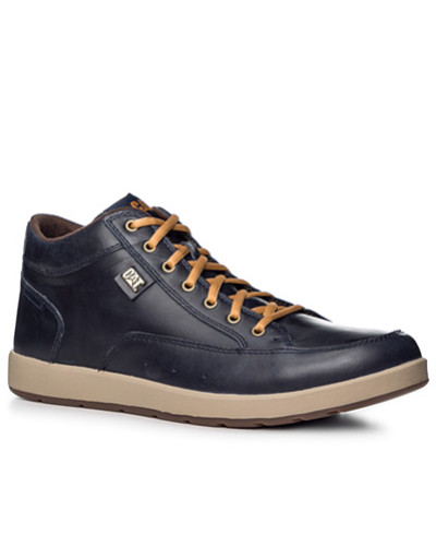 Caterpillar Footwear Herren Schuhe Schnürstiefeletten, Leder, navy