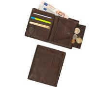 Geldbörse, Leder, dunkel