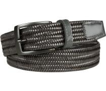 Gürtel schwarz, Breite ca. 3,5 cm