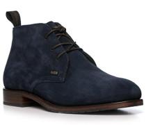 Schuhe Desert Boots, Veloursleder GORE-TEX, navy