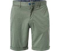 Hose Shorts, Regular Fit, Baumwoll-Stretch, khaki
