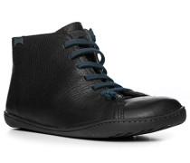 Schuhe Sneakers, Leder, nacht