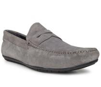 Schuhe Mokassins, Veloursleder