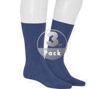 Socken, Baumwolle klimaregulierend, navy