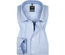 Hemd, Modern Fit, Baumwolle, Extra langer Arm