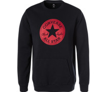 Sweatshirt, Baumwoll-Mix, navy