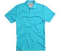 Polo-Shirt, Mikrofaser Coolmax, türkis