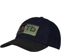 Cap, Schurwolle, navy