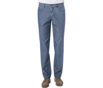 Hose Kirk, Contemporary Fit, Baumwolle, jeans