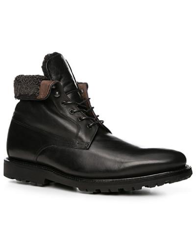 Prime Shoes Herren Schuhe Schnürstiefeletten, Kalbleder warm gefüttert
