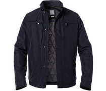 Jacke, Mikrofaser Thermore®, navy