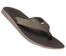 Schuhe Zehensandalen, Synthetik, dunkel