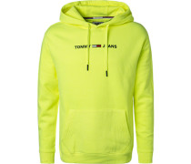 Hoodie, Relaxed Fit, Baumwolle, leucht