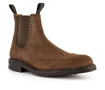 Schuhe Chelsea Boots, Leder wasserabweisend