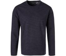 Sweatshirt, Relaxed Fit, Baumwolle,  gestreift