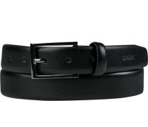 Gürtel dunkel, Breite ca. 3 cm