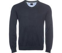 Pullover, modern fit, Baumwolle, nacht