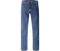 Jeans, Regular Fit, Baumwoll-Stretch, jeans