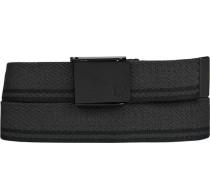 Gürtel -schwarz gestreift, Breite ca. 3,5 cm
