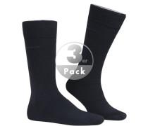 Socken, Schurwolle, navy