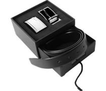 Gürtel Wendegürtel in Geschenkbox, -braun