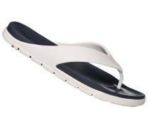 Schuhe Zehensandalen, Gummi, -weiß