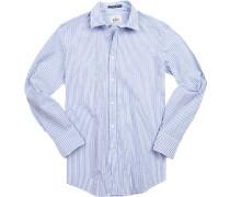 Hemd, Regular Fit, Baumwolle,  gestreift